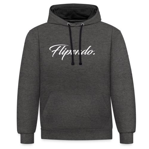 Flipendo. - Contrast hoodie