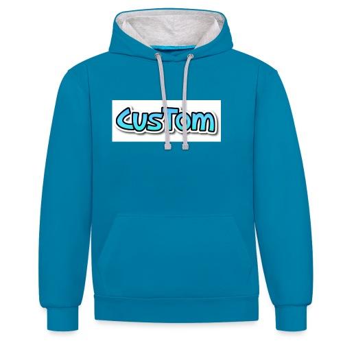 CusTom NORMAL - Contrast hoodie