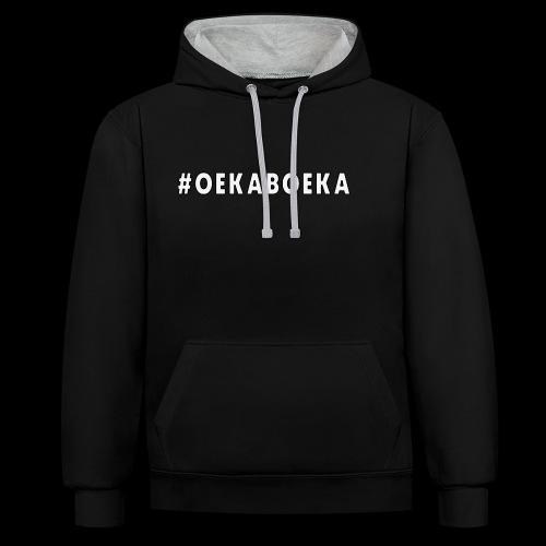 #Oekaboeka - Contrast hoodie