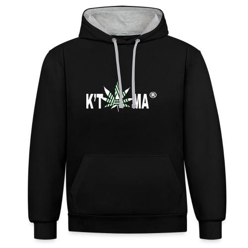 K'TAMA - Sweat-shirt contraste