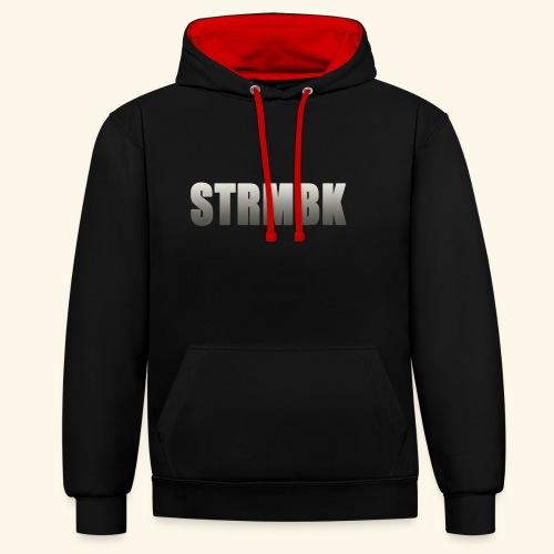 KORTFILM STRMBK LOGO - Contrast hoodie