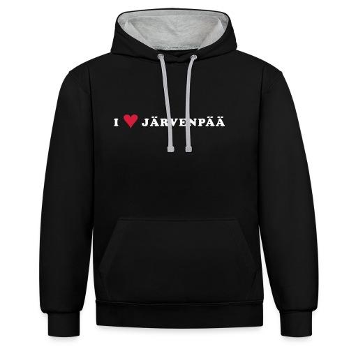 I LOVE JARVENPAA - Kontrastihuppari