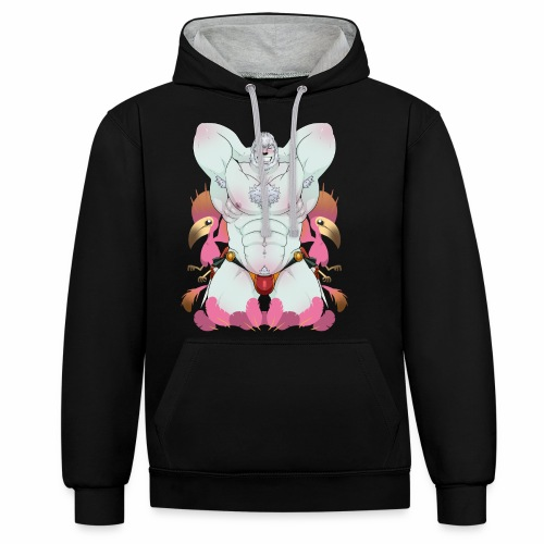 Fist of the People - Contrast Colour Hoodie