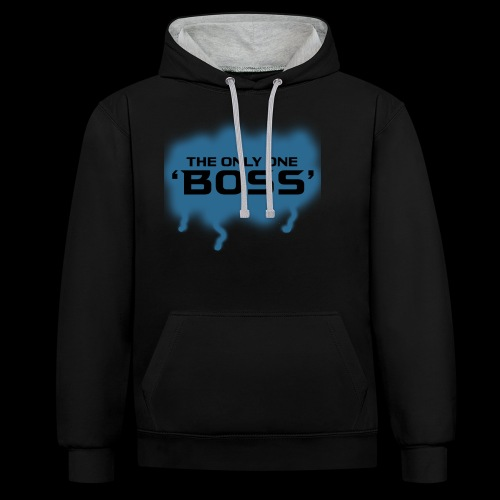 the only one BOSS - Kontrast-Hoodie