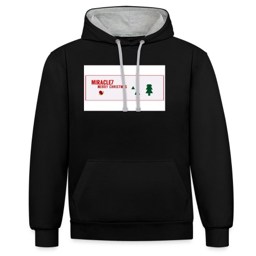 Christmas Exclusive - Contrast Colour Hoodie