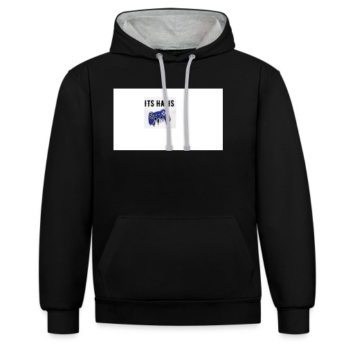 Its Haris limted edition - Contrast Colour Hoodie