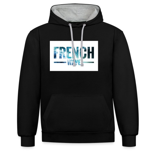 FRENCH WAVE LOGO - Sweat-shirt contraste