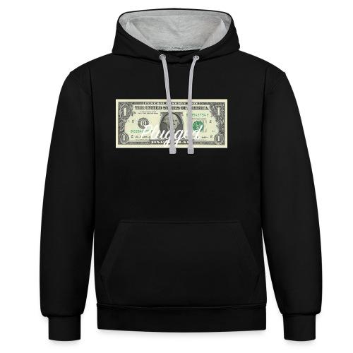 rich hoodie - Kontrastluvtröja