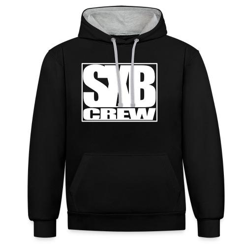 SXB Crew logo - Contrast hoodie