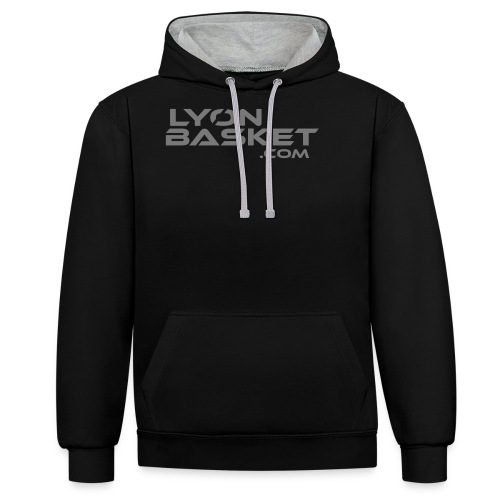 lyonbasketspread - Sweat-shirt contraste