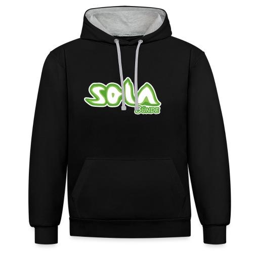 Sola Buende Logo 2017 - Kontrast-Hoodie