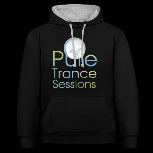 PTS logo new15 beeldmerkS png - Contrast Colour Hoodie
