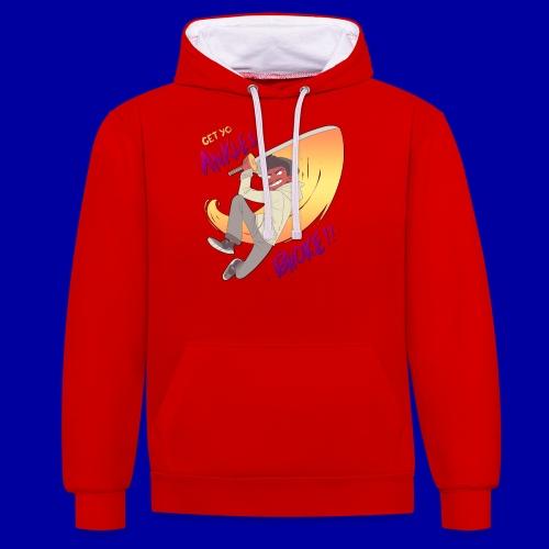 GET YO ANKLES BROKE!! - Contrast Colour Hoodie