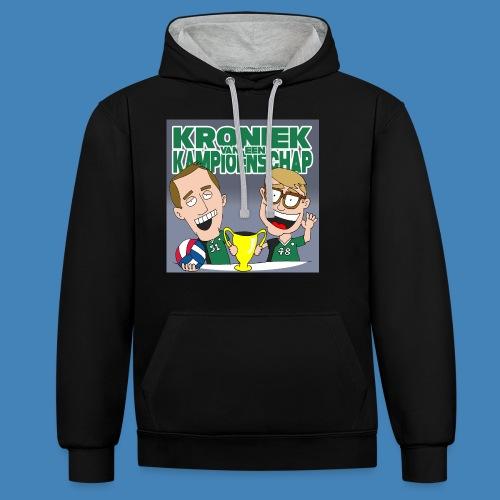 Kroniek van een Kampioenschap - Contrast hoodie