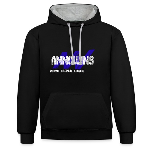Annowins Wit2 png - Contrast Colour Hoodie