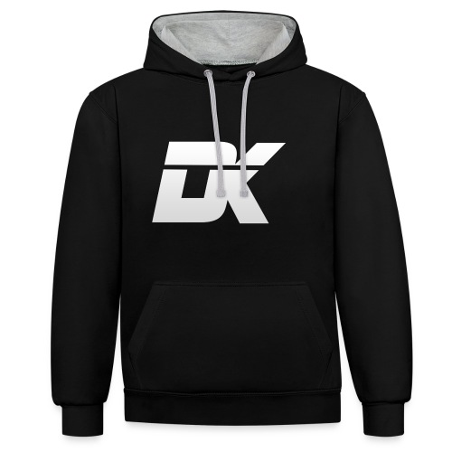 DarK Empire white png - Contrast Colour Hoodie