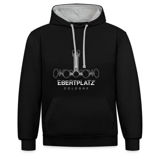 Ebertplatz - Kontrast-Hoodie