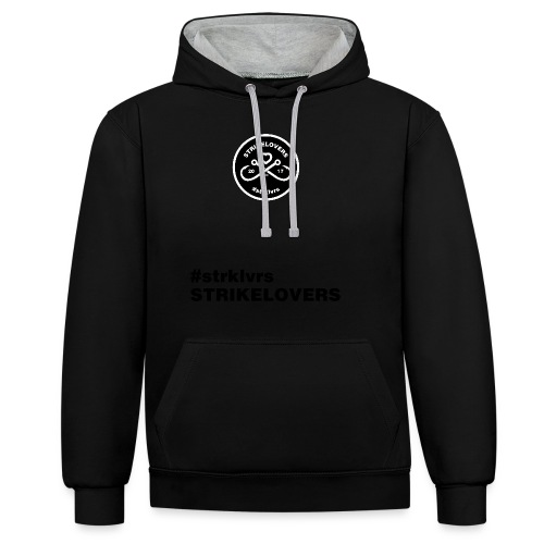 StrikeLovers Circle - Kontrast-Hoodie