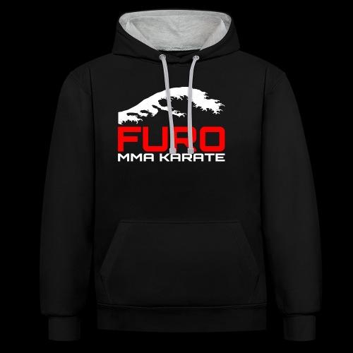 Furo MMA Karate - Teamkleidung - Kontrast-Hoodie