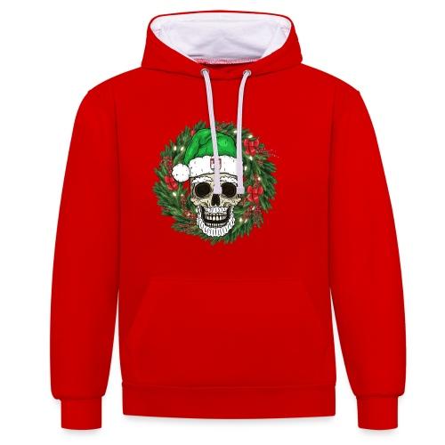 Wolfsburg Santa - Kontrast-Hoodie