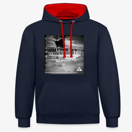 BIARRITZ PERCEPTION - PERCEPTION CLOTHING - Sweat-shirt contraste