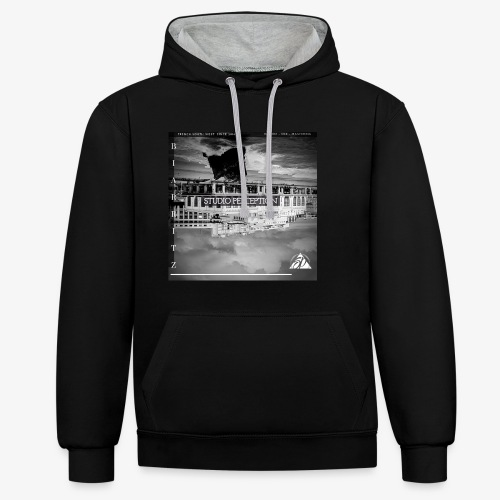 BIARRITZ PERCEPTION - PERCEPTION CLOTHING - Sweat-shirt contraste