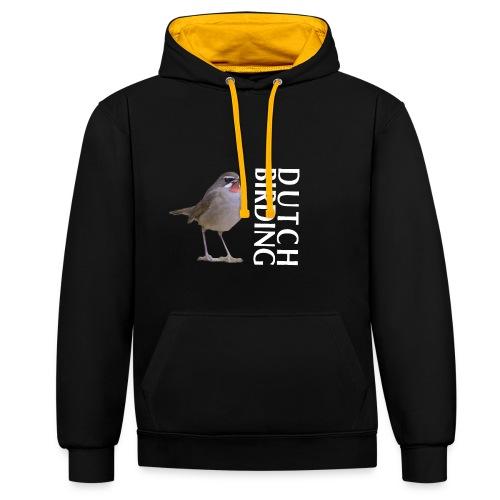 RKN Jaap Denee wit r - Contrast hoodie
