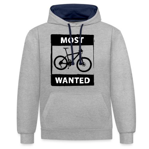 MTB - most wanted 2C - Kontrast-Hoodie