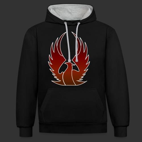 Phenix on fire - Sweat-shirt contraste