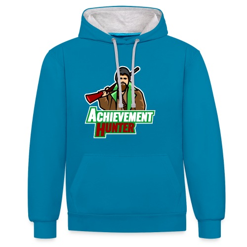 archhunter 1c01 - Contrast Colour Hoodie