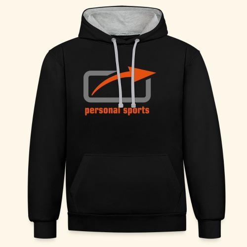 PS Logo Standard - Kontrast-Hoodie