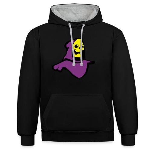 Skeletor - Contrast Colour Hoodie