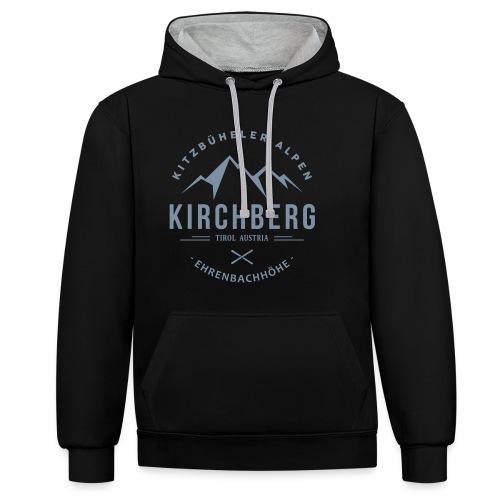 Skiclub Kirchberg - Contrast hoodie
