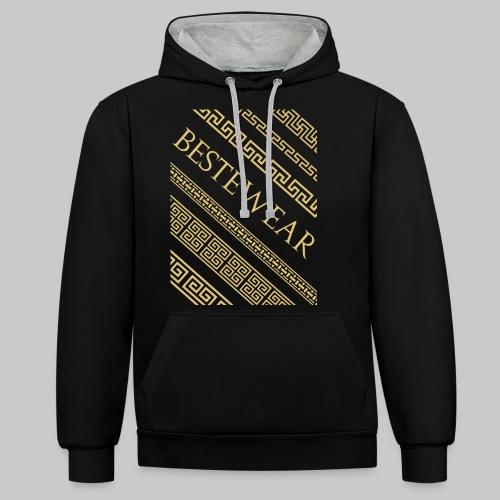 #Bestewear - Gold Chain´s - Kontrast-Hoodie