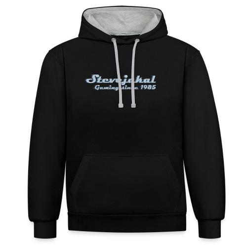 Stevejakal Merchandise - Kontrast-Hoodie