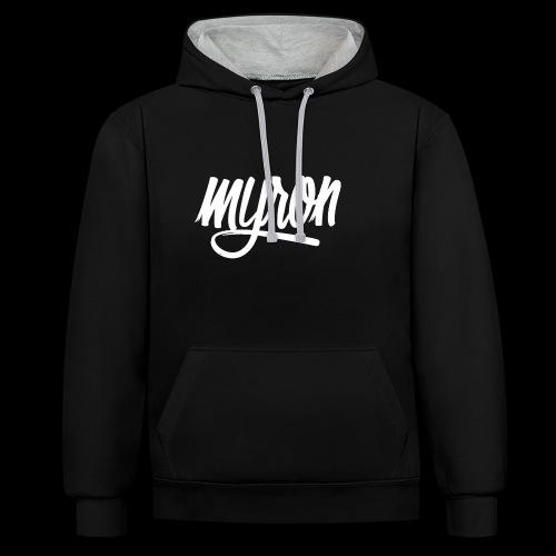 Myron - Contrast hoodie