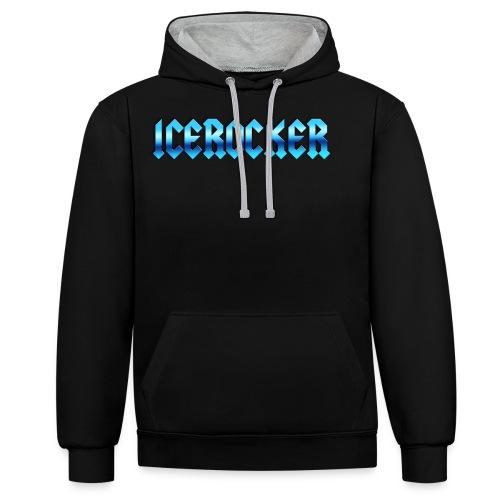 Icerocker - Kontrast-Hoodie