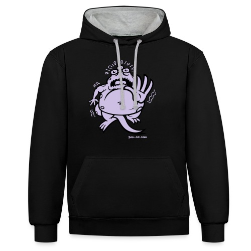 Fearful Monster - Contrast Colour Hoodie