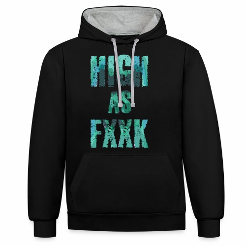 HAF - Contrast Colour Hoodie