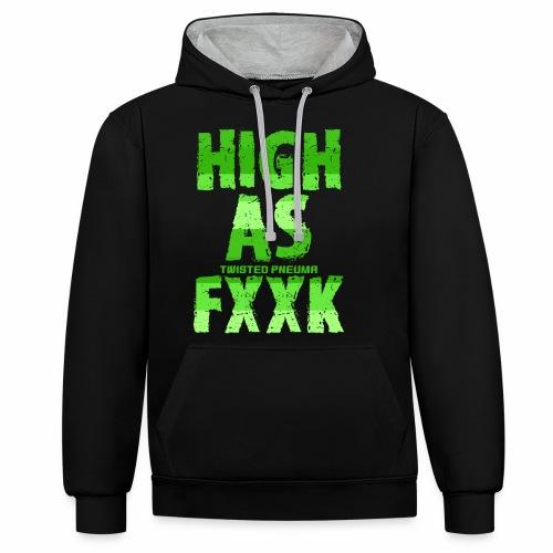 FXXK - Contrast Colour Hoodie