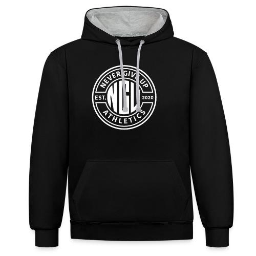 Nevergiveup Athletics Member - Kontrast-Hoodie