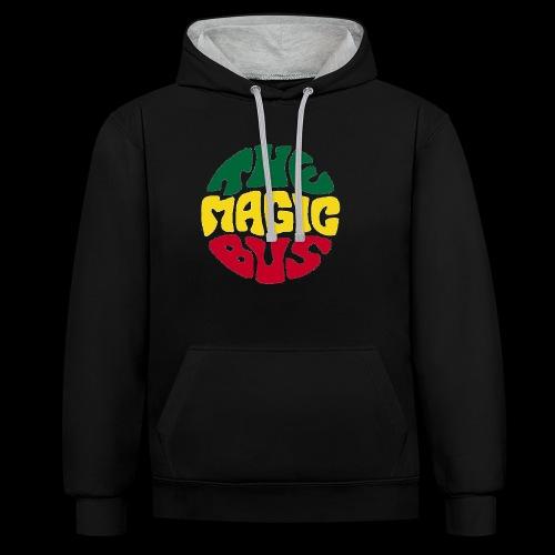 THE MAGIC BUS - Contrast Colour Hoodie