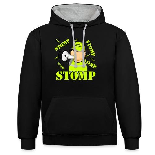 stomp - Sweat-shirt contraste