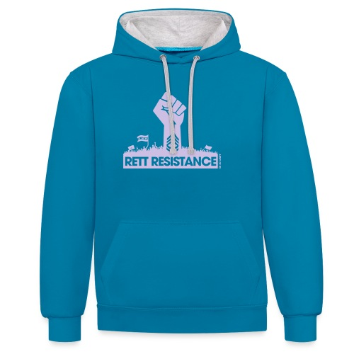 Rett Resistance - Army of Us - Contrast Colour Hoodie