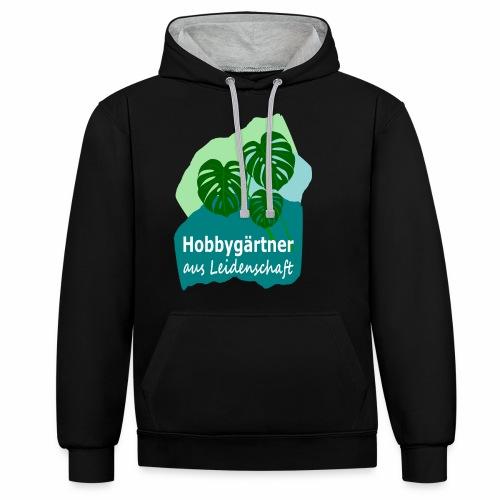 Hobbygärtner 2 - Contrast Colour Hoodie
