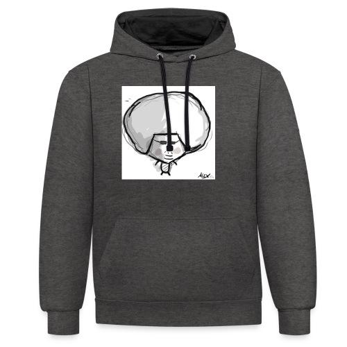 Harry - Contrast hoodie