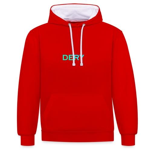 DERY - Kontrast-Hoodie