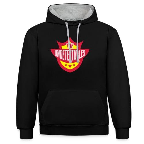 Undetectables voorkant - Contrast hoodie