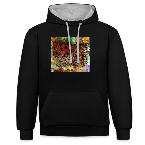 urban tribute - Sweat-shirt contraste