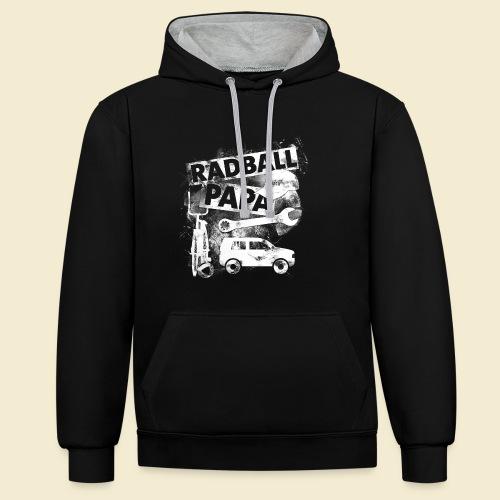 Radball | Papa - Kontrast-Hoodie